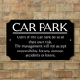 Picture of Car Park Sign