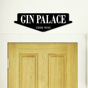 Picture of Gin Palace Sign, Gin Bar Sign