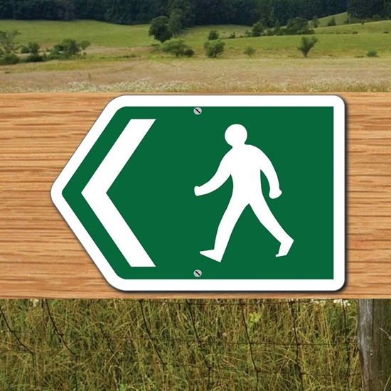 Picture of Footpath Arrow Sign