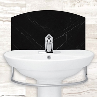 Picture of Slate / Stone Effect Tile Basin Splash back