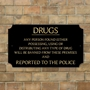Picture of Pub Bar Restaurant Drugs Sign