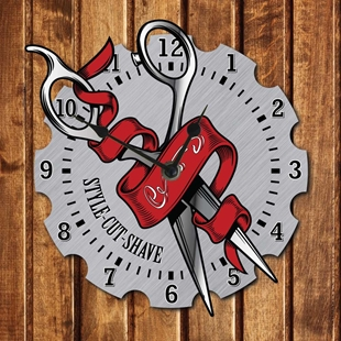Picture of Barber Shop Clock