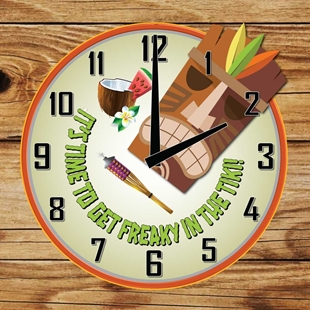 Picture of Tiki Bar Clock