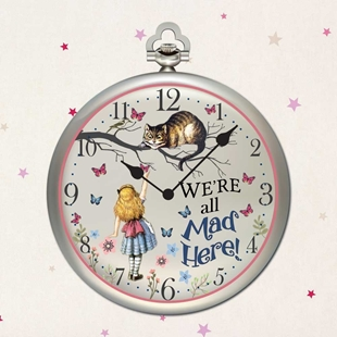 Picture of Alice in Wonderland Clock