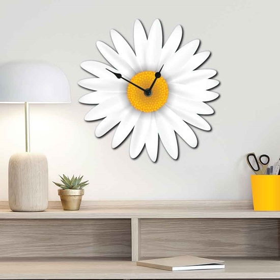 Picture of Cute Daisy Wall Clock