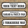 Picture of Personalised Family Name plaque