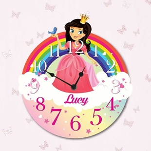 Picture of Princess Clock