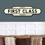 Picture of Vintage Style FIRST CLASS Sign