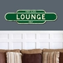 Picture of Vintage Style LOUNGE Sign - First Class Only