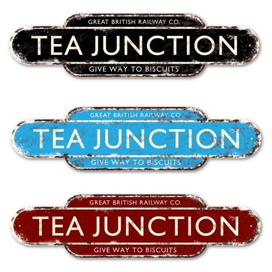 Picture of TEA JUNCTION Sign