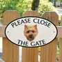 Picture of Please Close The Gate Cairn Terrier Sign