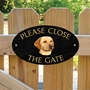 Picture of Yellow Labrador Sign