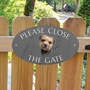 Picture of Border Terrier Gate Sign