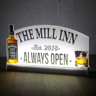 Picture of LED Light up Whisky Bar Sign