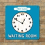 Picture of Railway Station Waiting Room Clock