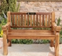 Picture of Outdoor Photo Memorial Bench Plaque
