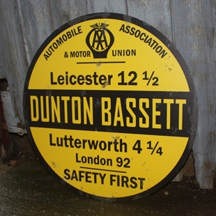 Picture of Replica Old AA Distance Village Sign