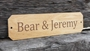 Picture of Personalised Oak Effect House Sign