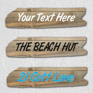 Picture of Personalised Driftwood Effect House Sign