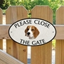 Picture of Beagle Gate Sign