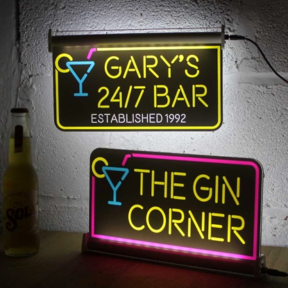 Picture for category Illuminated Pub Bar Signs