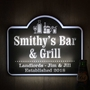 Picture of Wall mounted light up bar sign
