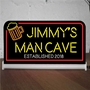 Picture of Personalised Light up Beer Bar Sign
