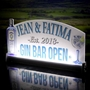 Picture of LED Light up Gin Bar Open Sign
