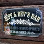 Picture of Personalised Vintage Style Pub Mirror