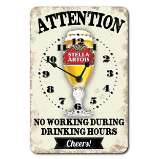 Picture of Stella Home Bar Wall Clock