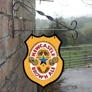 Picture of Newcastle Brown Hanging Bar Sign