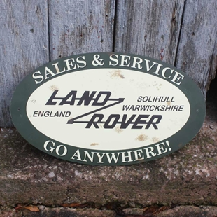 Picture of Vintage  Land Rover Garage Sign