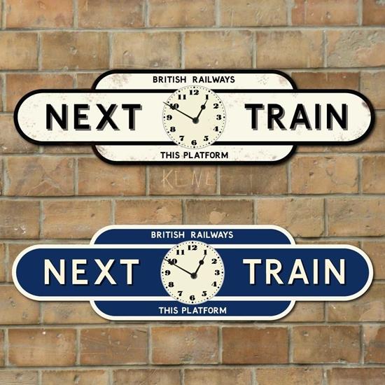 Picture of Next Train Platform Totem Clock