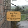 Picture of Personalised Hanging House sign