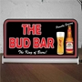 Picture of Custom Light up Bar Sign - Budweiser