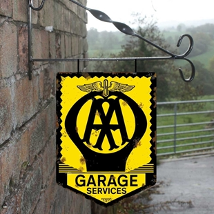 Picture of AA Garage Services Hanging Sign
