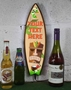 Picture of Tiki Bar Light Up Surfboard Sign