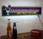 Picture of LED Light up home bar cocktail sign