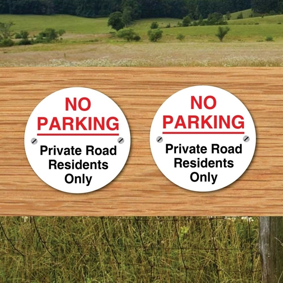 Picture of NO Parking Signs 2 PACK