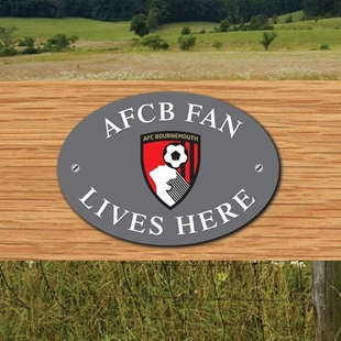 Picture of Bournemouth FC House Door Plaque