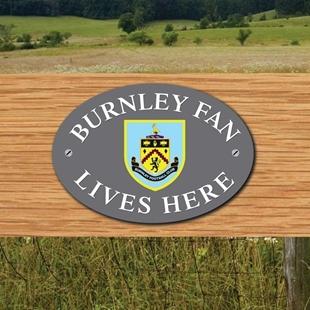 Picture of BURNLEY FAN LIVES HERE House Door Plaque