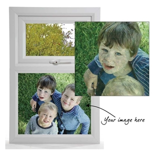 Picture of Add your Own image window film