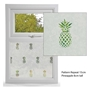 Picture of Pineapple Window Film Etched