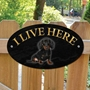 Picture of DACHSHUND Dog Gate Sign