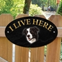 Picture of COLLIE Dog Gate Sign