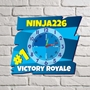Picture of Personalised Victory Royale Clock