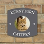 Picture of Pet Photo Personalised House Sign
