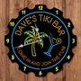 Picture of Personalised Tiki Bar Neon Style Clock