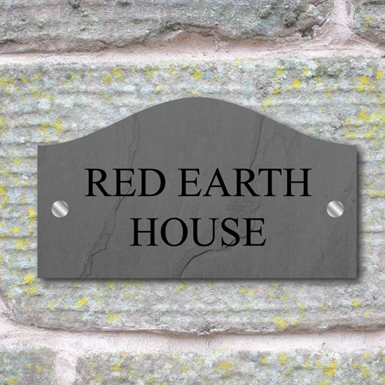 Picture of Slate Effect House Sign