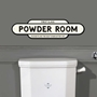 Picture of Vintage Style POWDER ROOM Sign